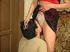 Mature and guy licking sexual organs each other