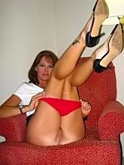 Mature amateur hot wives get gangbanged