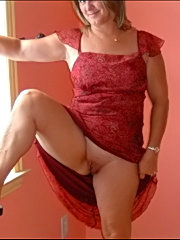 Big tit wife in heels get a missionary reality cock pounding