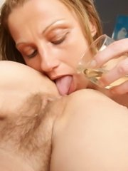 Mature lesbian fistfuck party