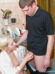 Drunk lad gets seduced by neighbor?s hot wife