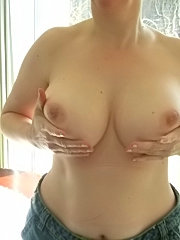 Horny drunk nymphette shows her tits