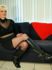 Watch this brunette bounce around with this thick black cock deep in her ass and then get her cunt and ass pounded by massive dildos!