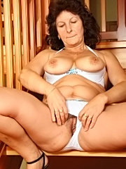 Tattooed brunette with tiny tits gives blowjob 69