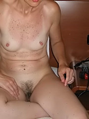 Horny amateur housewives in hot threesome