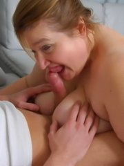 Chubby mature housewife fucking young tief