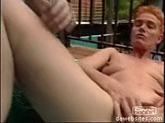 Lucky mature slut gets her wet hungry pussy drilled with young cock