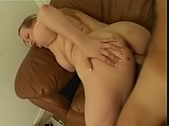 Hot blonde bbw gets cock drilling in her cunt