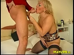 Mature fat chubby granny floor fucking old mature