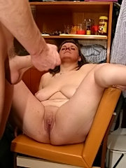 Lucky youngster gets seduced and fucked by a mature cunt