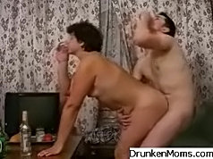 Mature woman is seduced into extramarital affair with a sweet guy she just met