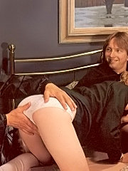 Hairy eighties scouting girl gets fucked hard