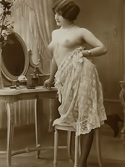 Real antique naked women in vintage photos from early 20 century from vintagecuties.com