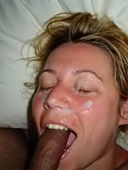 Horny wives giving head