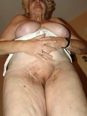Old mature pussy pounded hard by a granny loving old guy