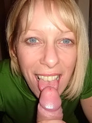 Amateur wives giving blowjobs