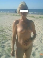 Last year's competition to elect the best looking naturist woman bush and boobs