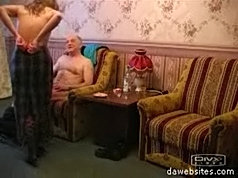 Nasty old dick enjoys fucking the shit out of a hot teen pussy