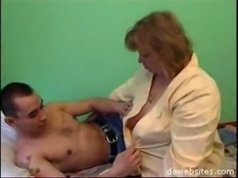 Tight young fucker loves messing around with fleshy mature housewife