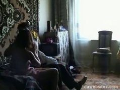 Hot mature pussy enjoys messing around in bed with her son's best friend