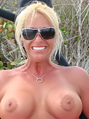 My big titted wife at home