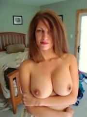 Old fat lady giant boobs posing mature chubby tits