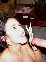 Amateur wives getting facials