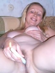 Amateur wife showing her tits