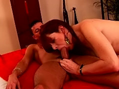 Mature women with bushy pussy gets fucked