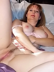 Mature blonde ass drilling titty cumshot sex