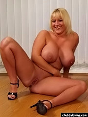 Top heavy big beautiful blonde