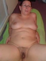 Curly hair big tit wife gets her pussy stretched by a big strange cock