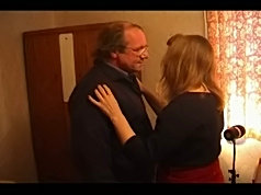 Horny granny?s pussy is eaten and fucked by her man