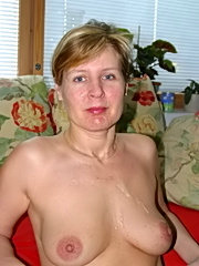 This slut has perfect titties swinging