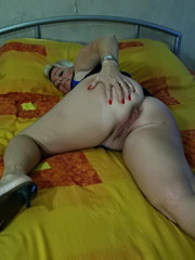 Sweet ass black babe taking black cocks in her ass