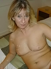 Milf amateur with massive tits gets some