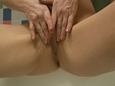 Sexy mature redhead gets down and dirty with a young guy and rides his cock to orgasm