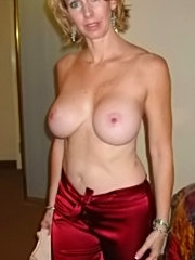 Big tits mature mom enjoys the sensation of young cock drilling her ass