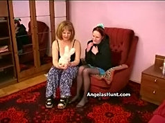 Angela knows how to make a lesbian from the sweet girl
