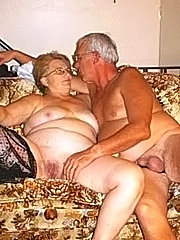 Horny blond granny sucks dick and gets ssfucked