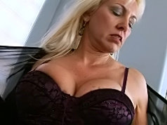 Horny milf with younger lover