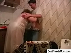 Young lad can have any girl he wants but instead he prefers to fuck his best friend's mom
