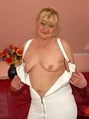 Nympho old whore fucked hard by her young lover