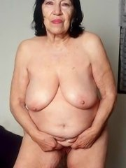 Granny undressing old clothes skinny old mature