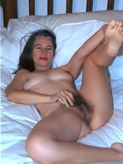 Hairy mom gets fucked from behind