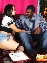 Black player dips his chocolate dipstick in mika tight mature asian pussy pie